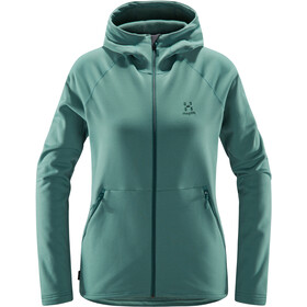 Haglöfs Bungy Hoodie Women, willow green